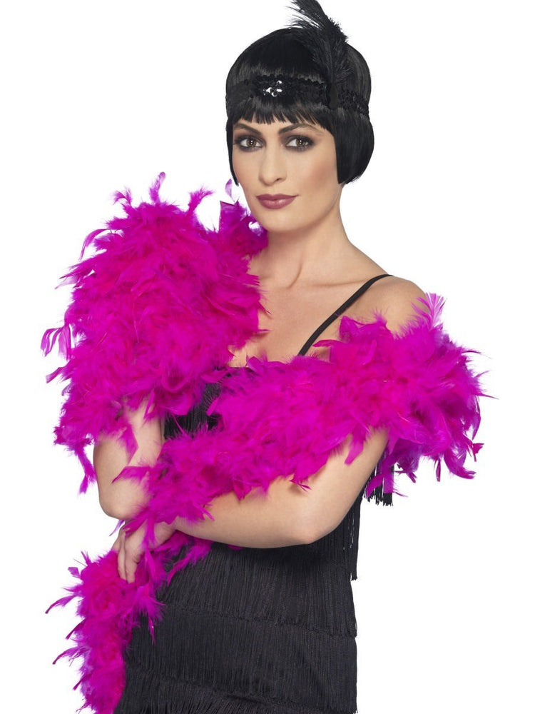 Feather Boa Shocking Pink