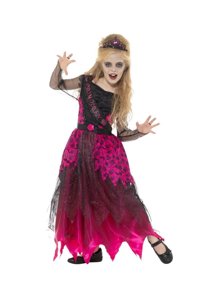 Smiffys Deluxe Gothic Prom Queen Costume - 48136