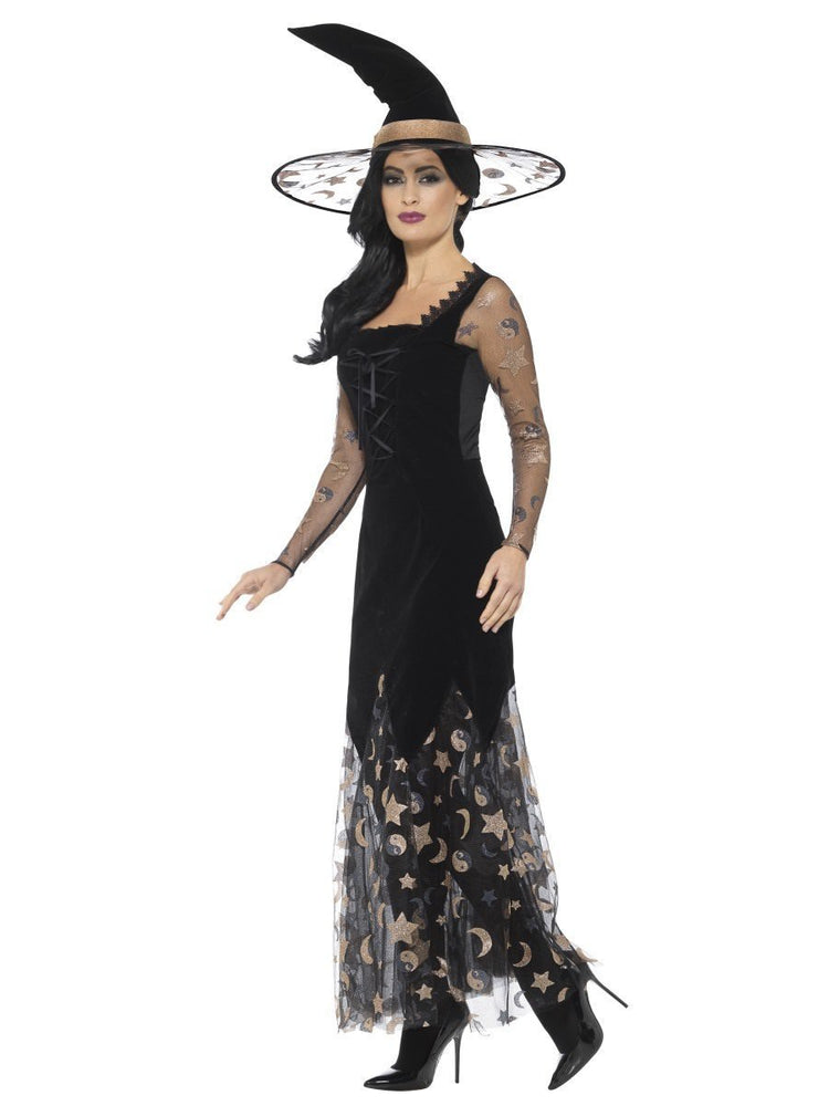 Deluxe Moon & Stars Witch Costume45110