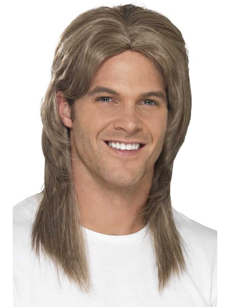Smiffys Deluxe Mullet Wig - 44645
