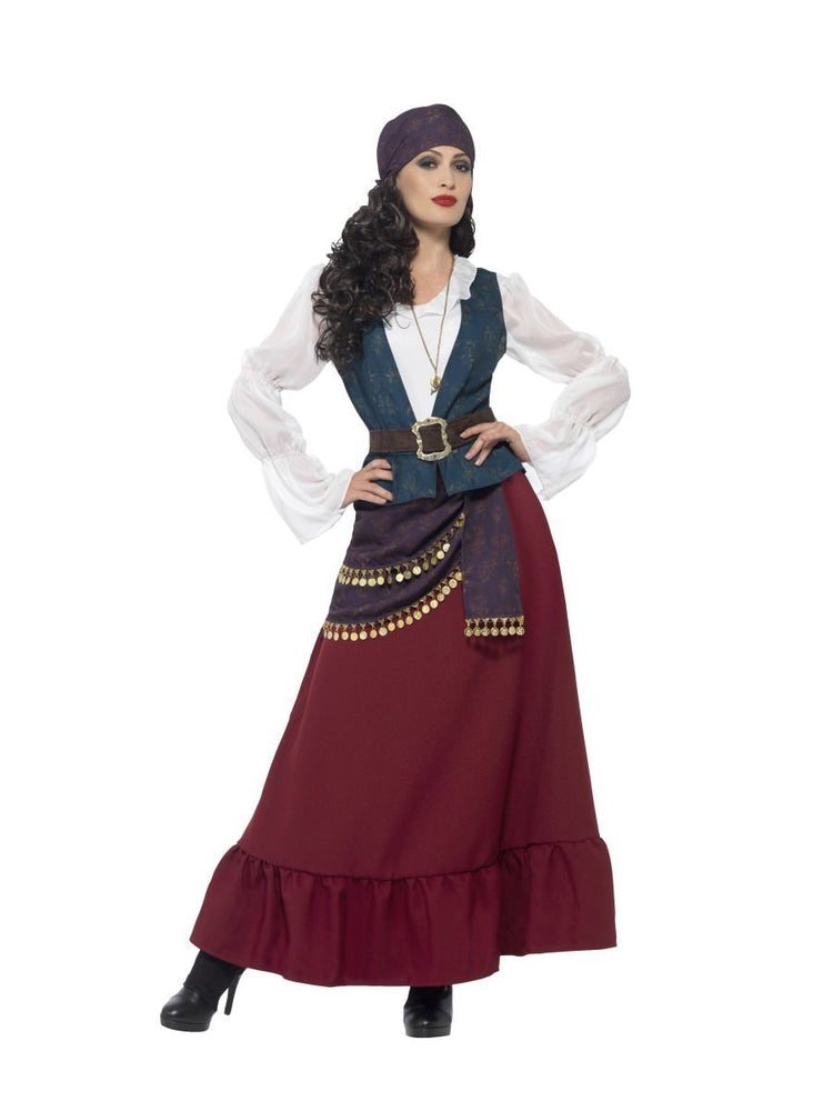 Smiffys Deluxe Pirate Buccaneer Beauty Costume - 45534