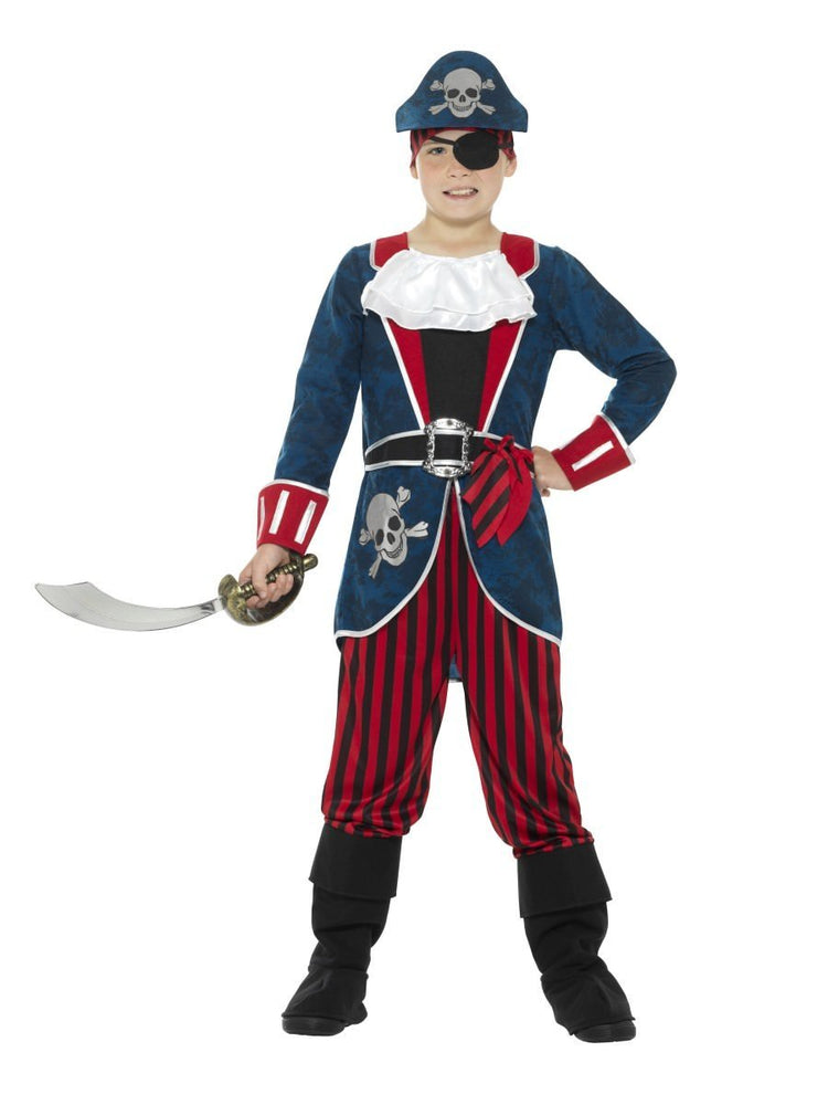 Deluxe Pirate Costume, Kids21891