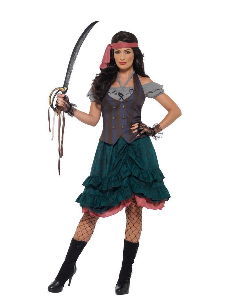 Smiffys Deluxe Pirate Wench Costume - 47360