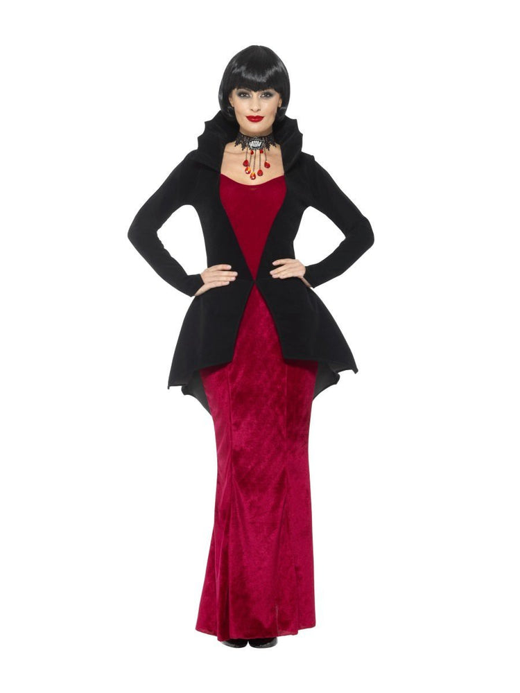 Smiffys Deluxe Regal Vampiress Costume - 48019