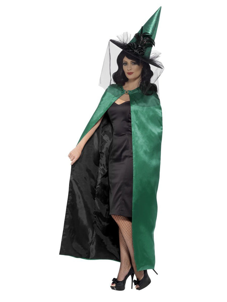 Smiffys Deluxe Reversible Witch Cape - 48324