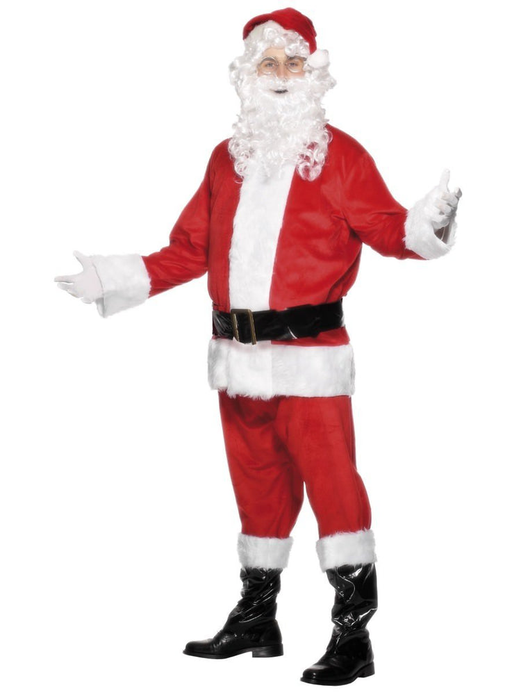 Santa Suit Velour Costume