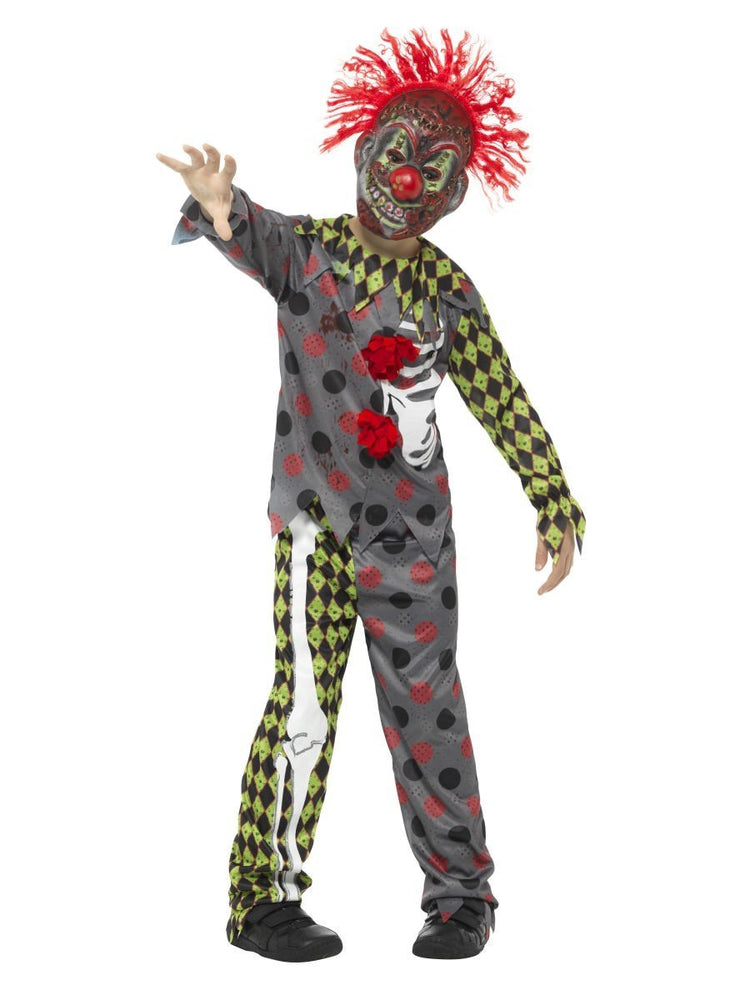 Smiffys Deluxe Twisted Clown Costume - 45125