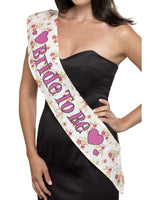 Smiffys Deluxe Vintage Bride To Be Sash - 41574