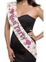 Deluxe Vintage Hen Party Sash41573
