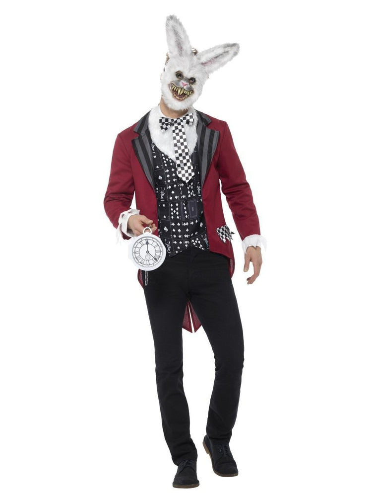 Deluxe White Rabbit Costume