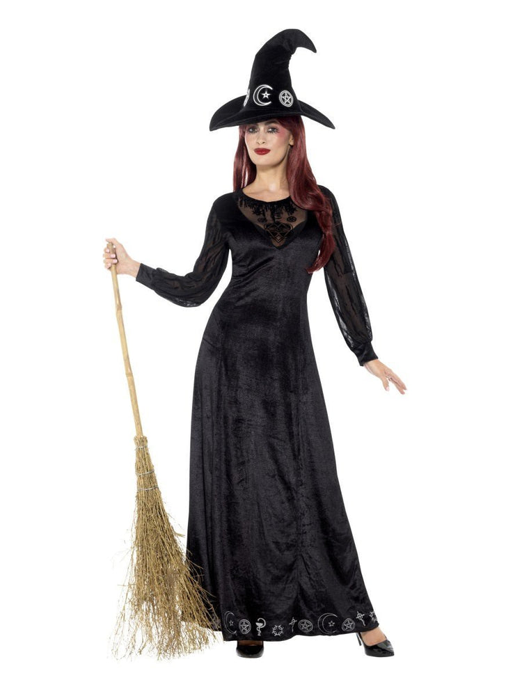 Smiffys Deluxe Witch Craft Costume - 48015