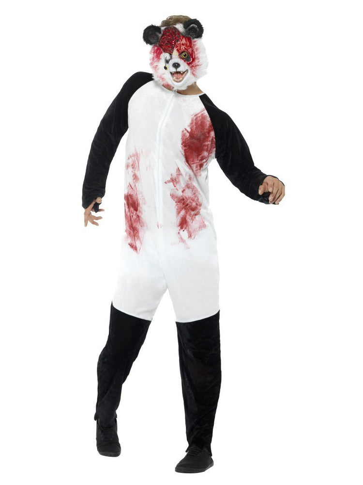 Smiffys Zombie Panda Adult Men's Costume - 44465