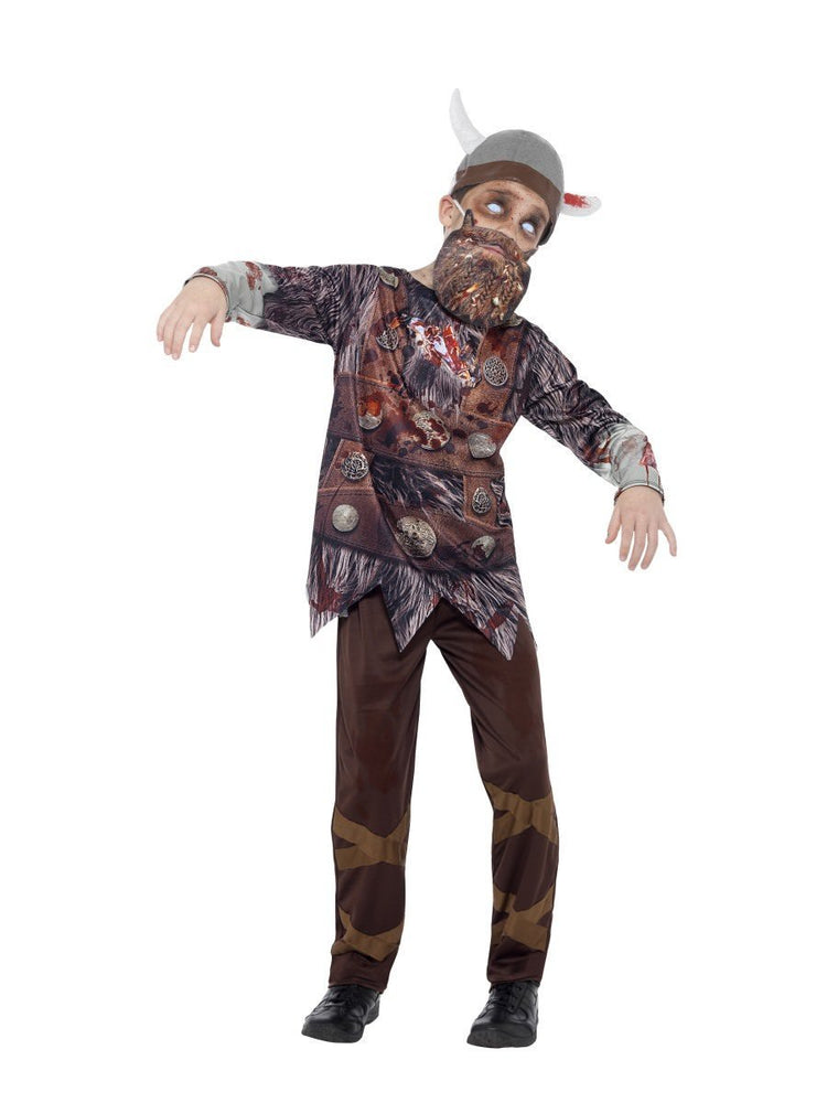 Smiffys Zombie Viking Child Boy's Costume - 45621