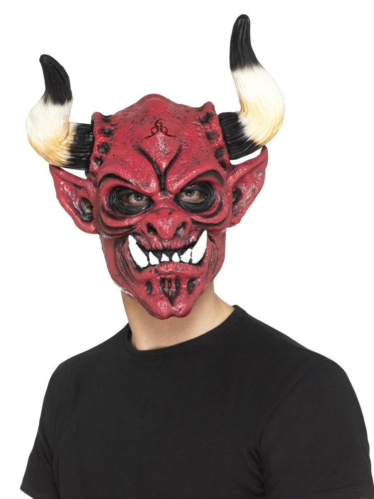 Smiffys Devil Mask, Foam Latex - 45018