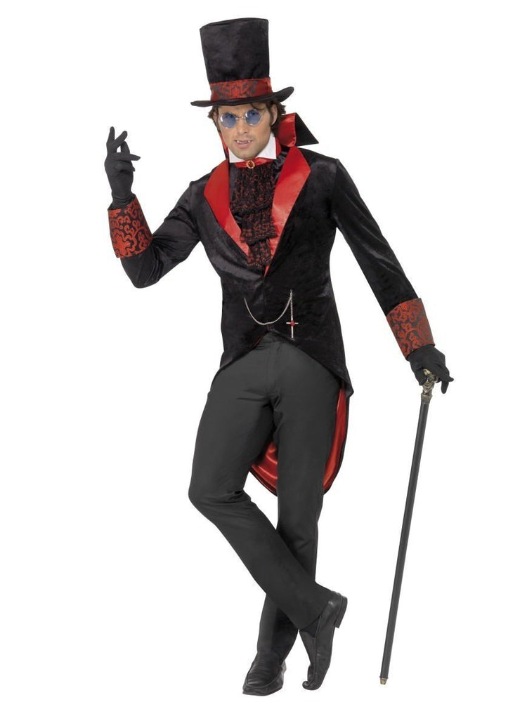 Dracula Costume - red and black