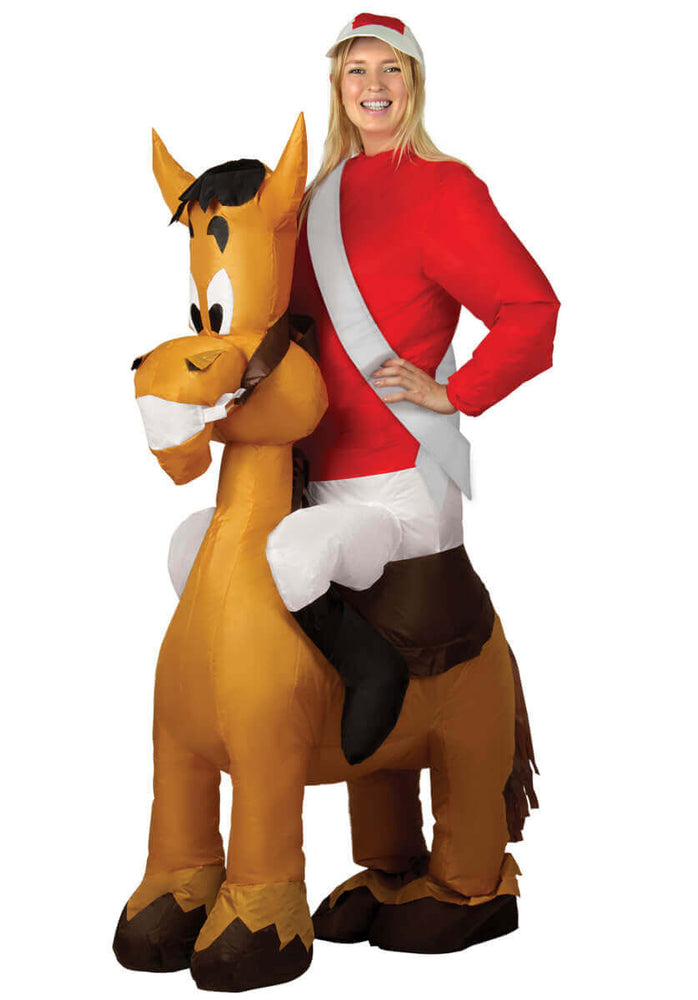 Inflatable Jockey Costume