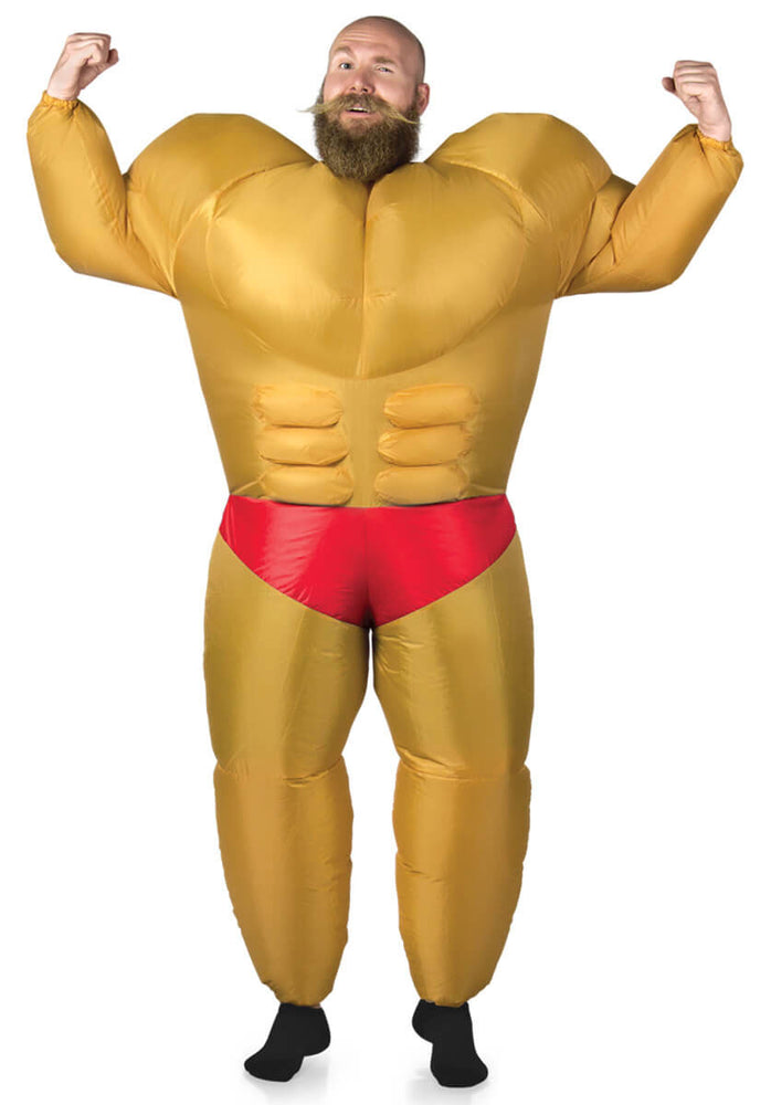 Inflatable Muscleman Costume- Strong man