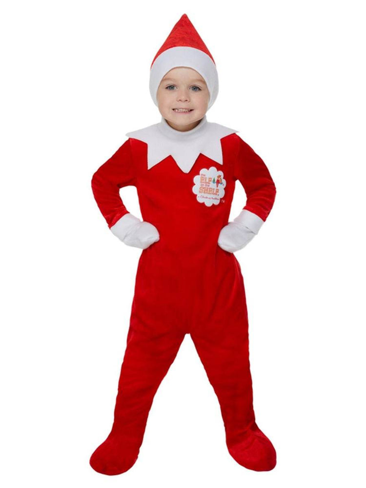 Smiffys Elf on the Shelf Boy Costume - 52240