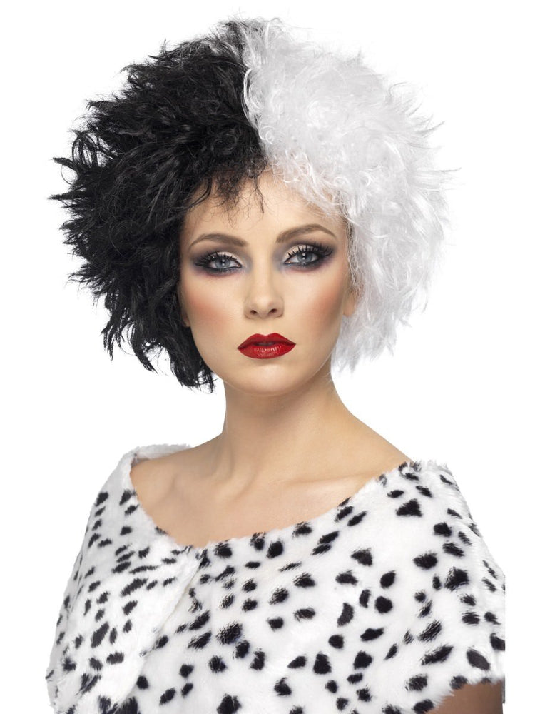 Evil Madame Wig, Black & White