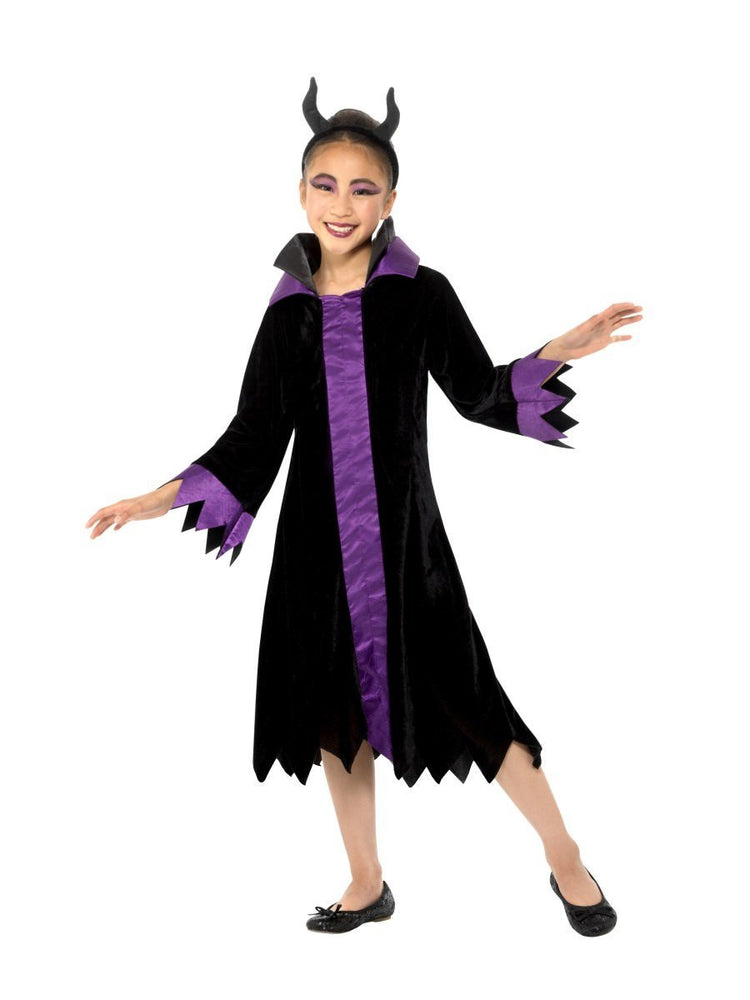 Smiffys Girls Evil Queen Costume - 49704