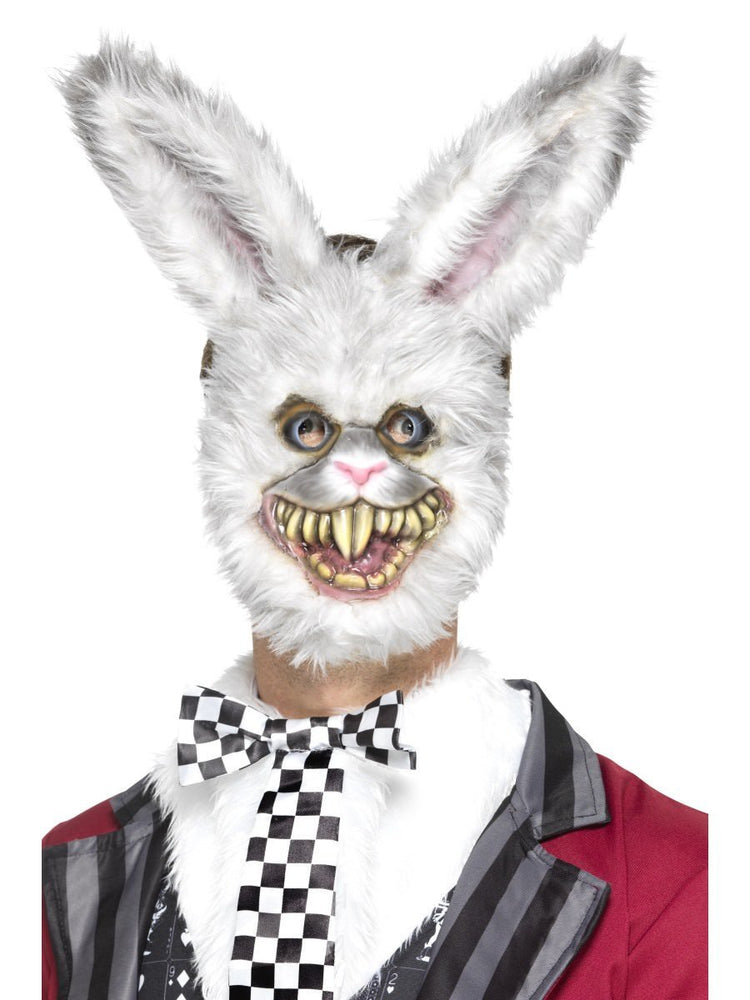 Smiffys Evil White Rabbit Mask - 46995