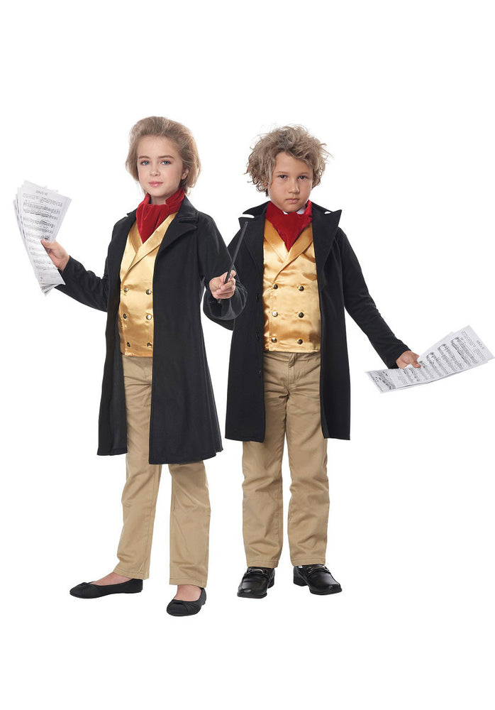 Famous Composer Beethoven Unisex Child Costume