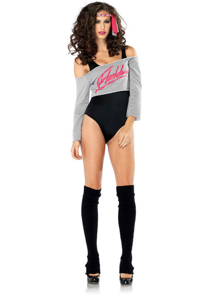 Flashdance Ladies Costume