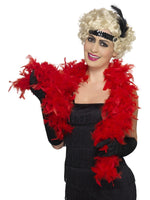 Feather Boa, Red30866
