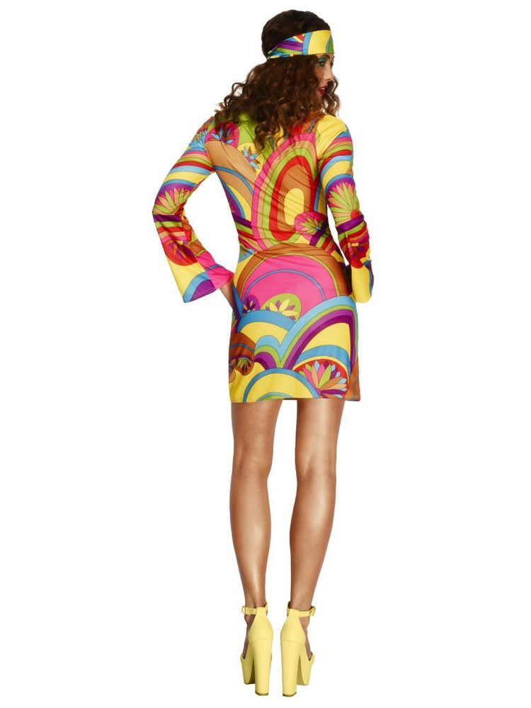 Fever 70s Flower Power Costume30462