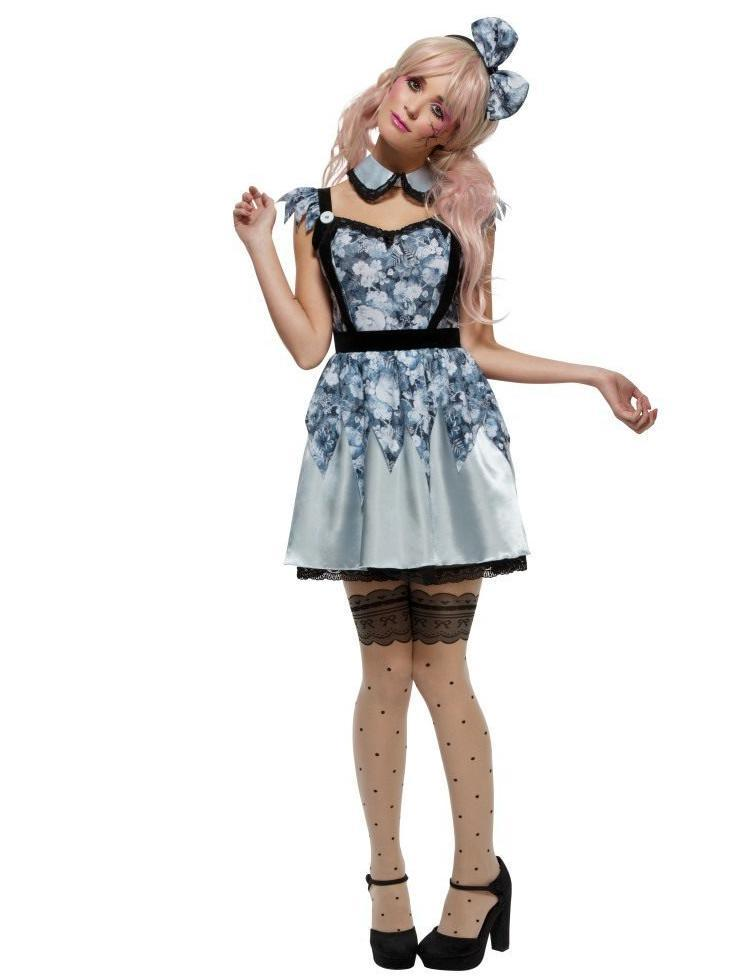 Smiffys Fever Broken Doll Annie Costume - 44543