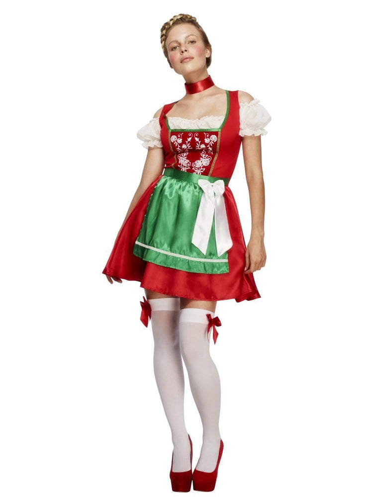 Fever Christmas Dirndl Costume - L