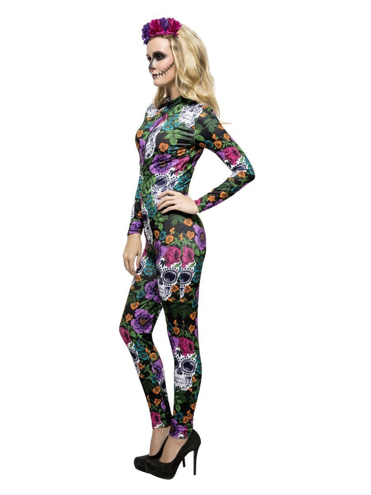 Fever Day of the Dead Costume, Multi-Coloured44536