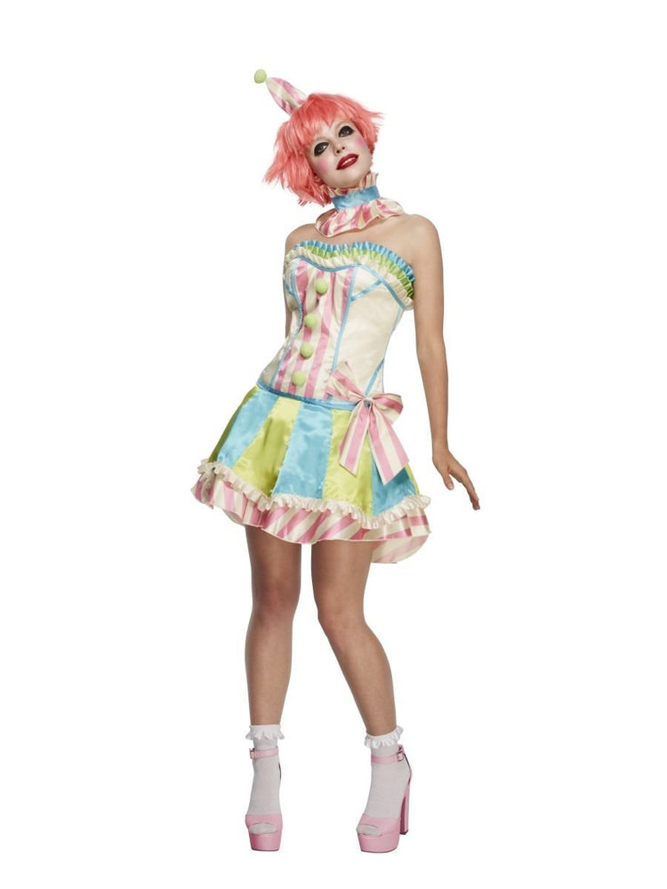 Smiffys Fever Deluxe Vintage Clown Costume - 45367