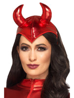 Fever Devil Headband, Red