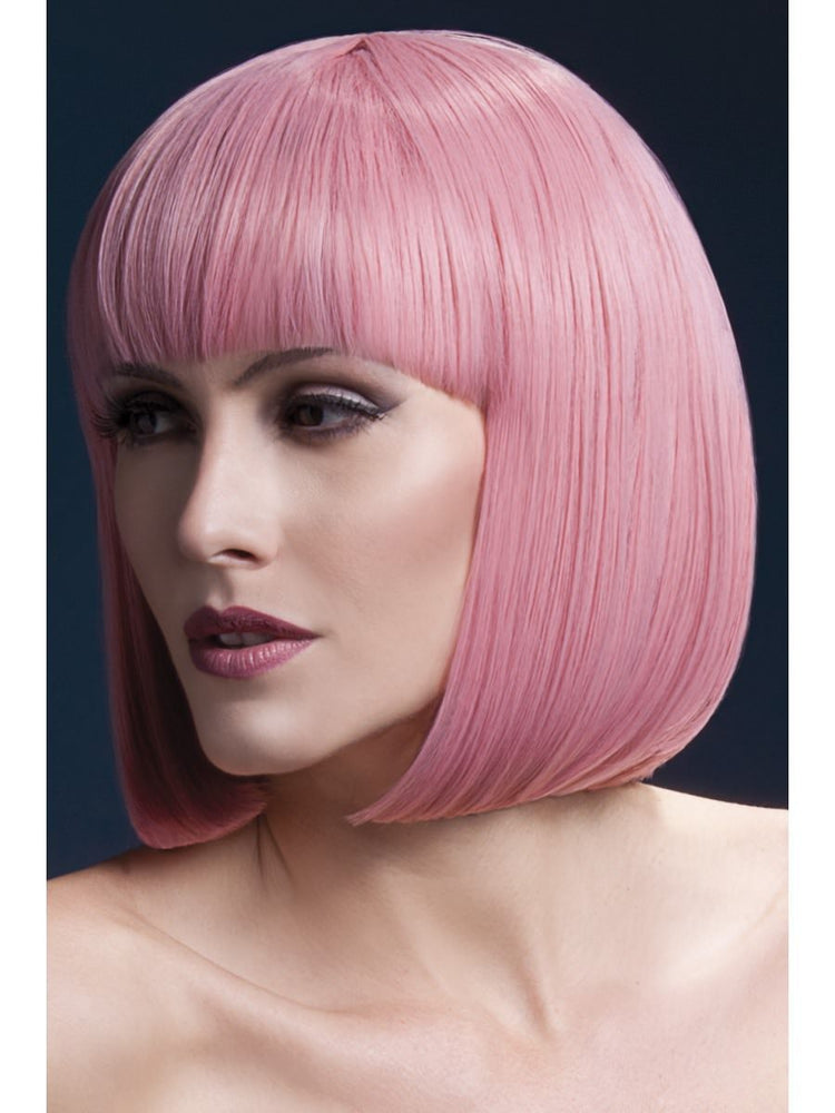Smiffys Fever Elise Wig, Pastel Pink - 42573
