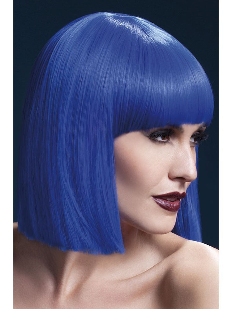 Fever Lola Wig 12in Blue