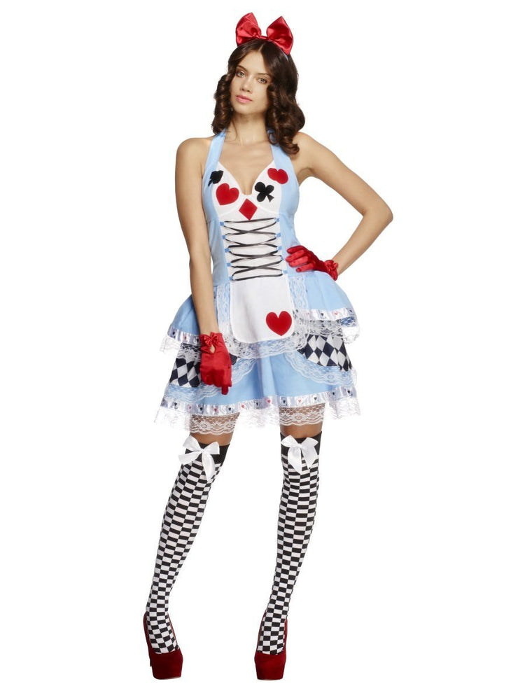 Smiffys Fever Miss Wonderland Costume - 21009
