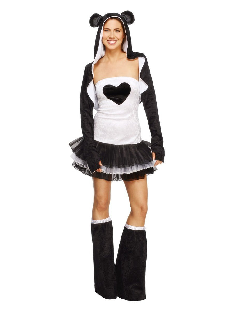 Smiffys Fever Panda Costume, Tutu Dress - 22797