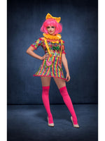 Fever Patchwork Clown Costume - XS