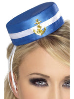 Blue Sailor Hat Pill Box