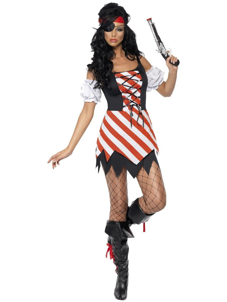Smiffys Fever Pirate Costume - 30479