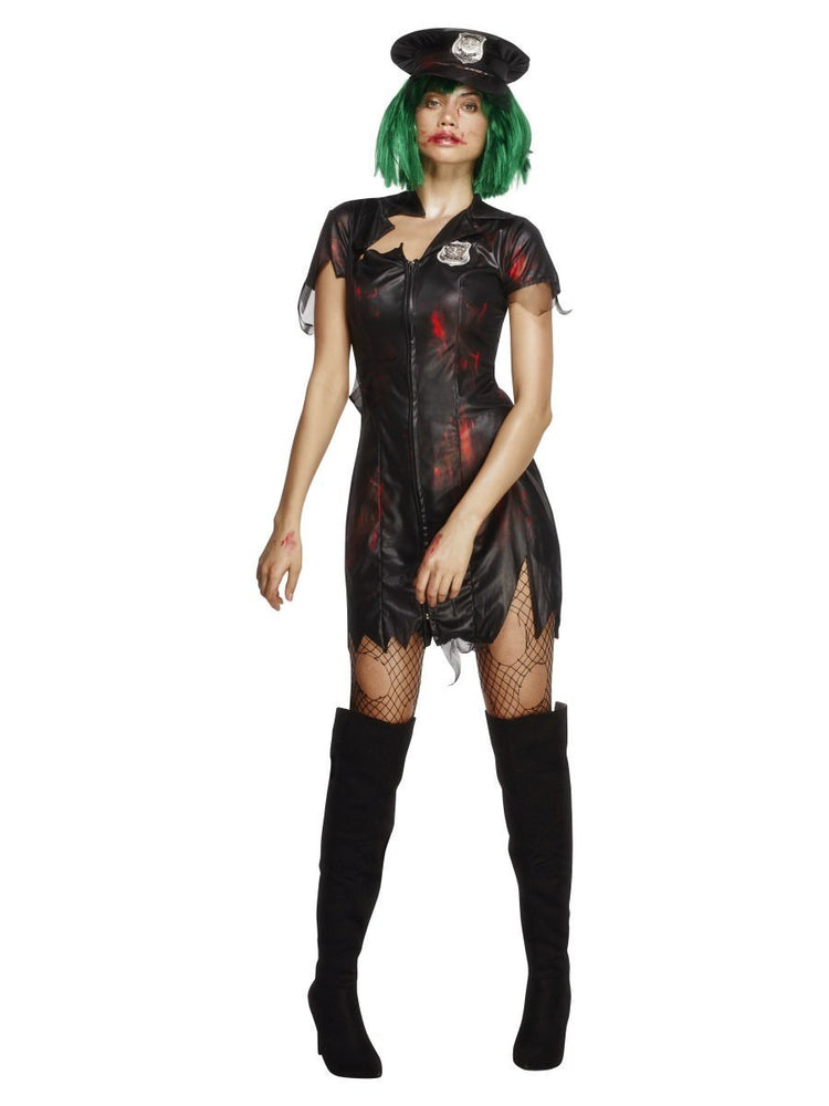 Zombie Cop Costume, Fever Collection