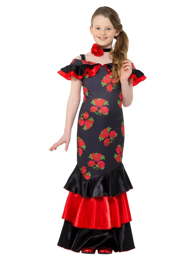 Smiffys Flamenco Girl Costume - 47677