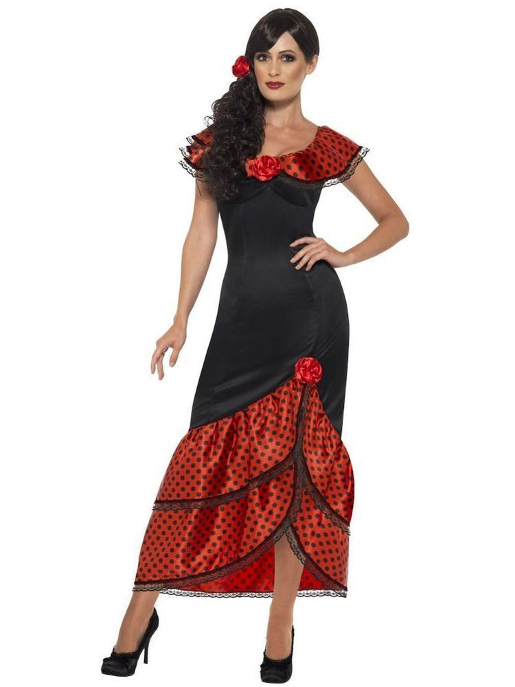 Flamenco Senorita Costume - X1