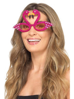 Flamingo Sparkle Glasses