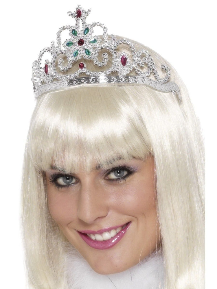 Tiara Silver Jewelled