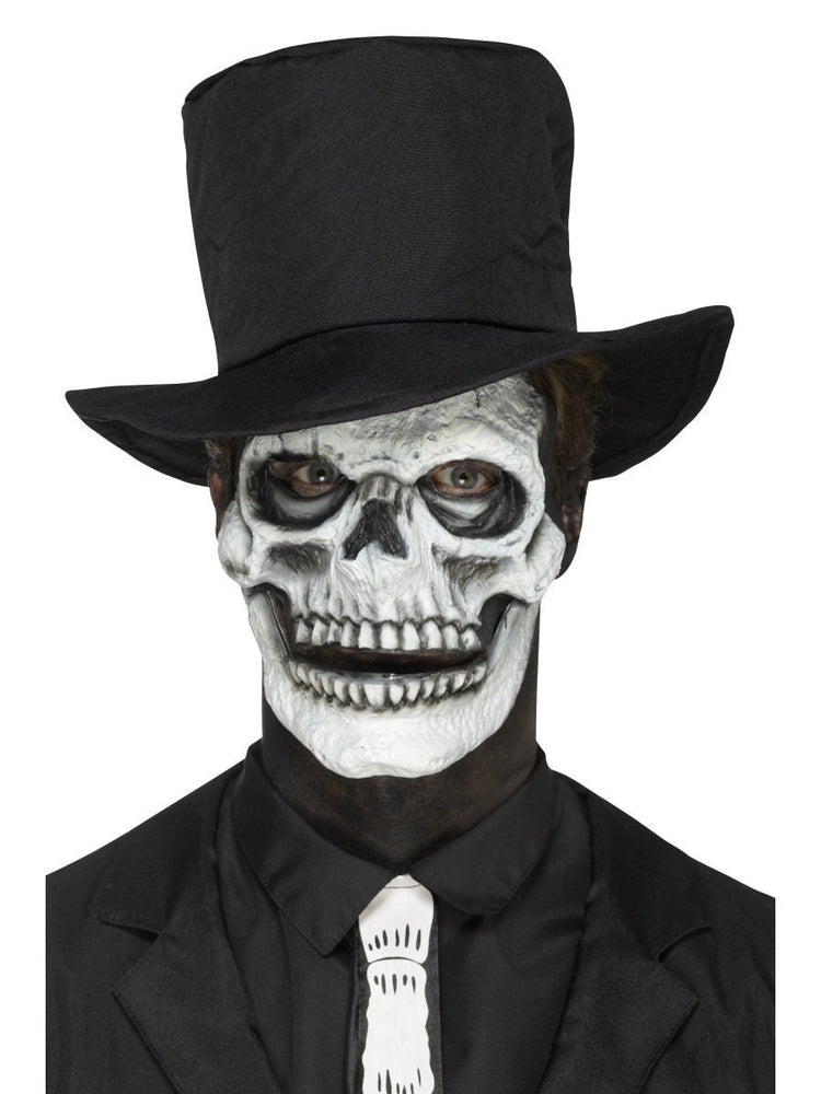 Smiffys Foam Latex Skeleton Face Prosthetic - 46785