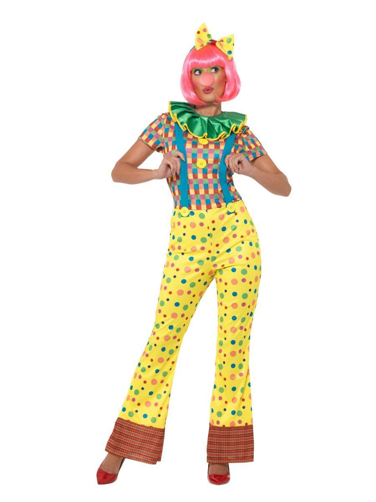 Smiffys Giggles The Clown Lady Costume - 47350