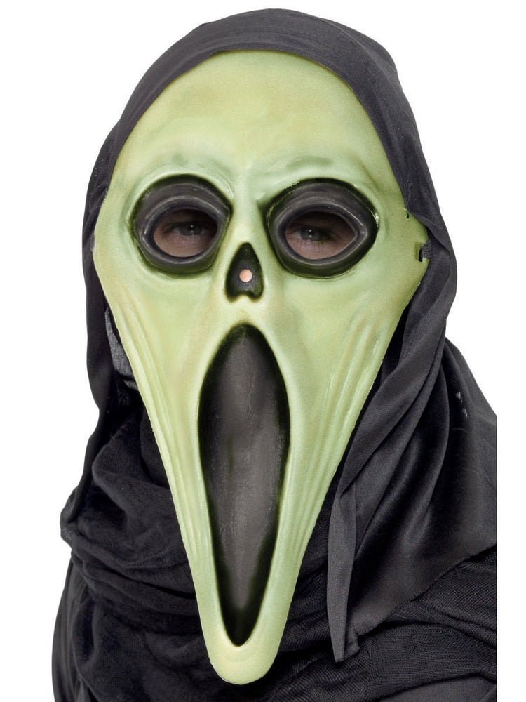 Screamer Mask with Hood, GID