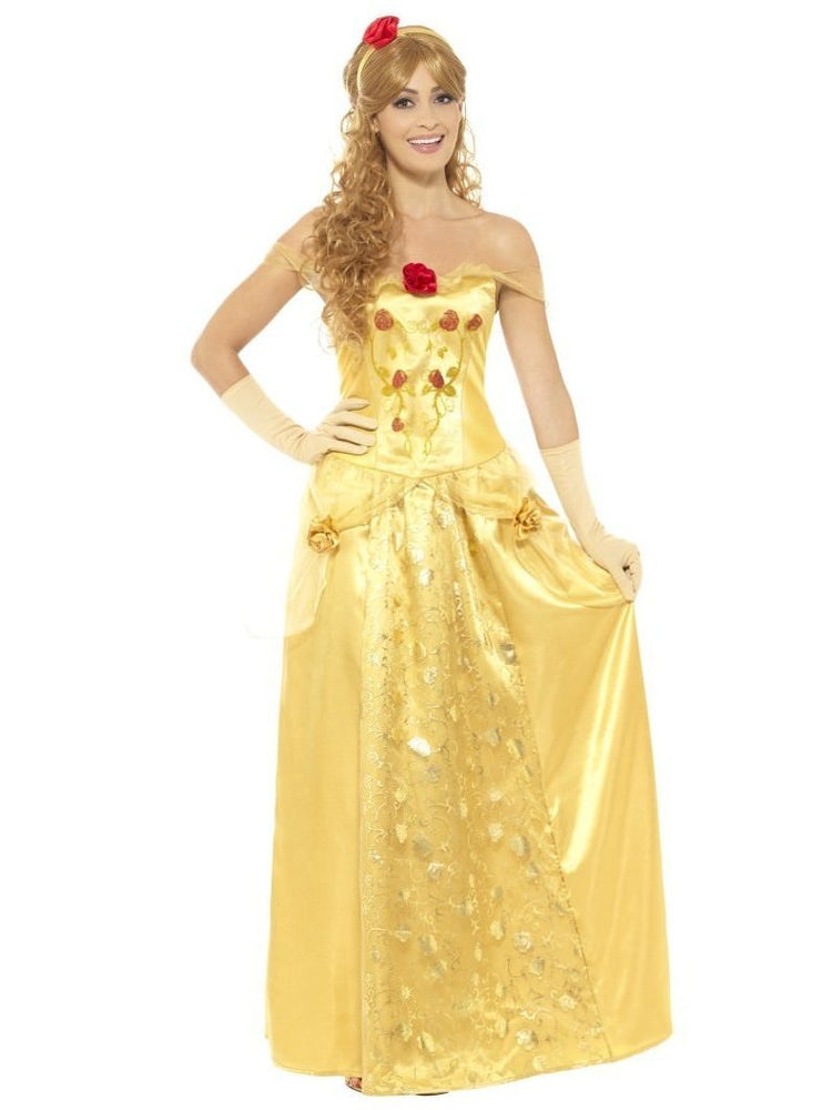 Smiffys Golden Princess Costume - 45969